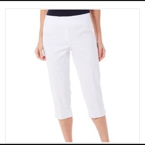 NWT Zac + Rachel Ultimate Fit Cropped Pants